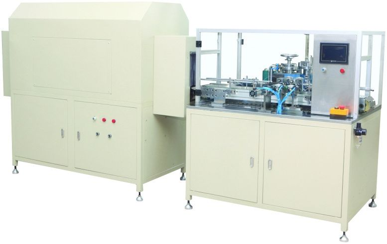 Two Color Roll Printing Machine , Full Automatic Printing Machine For Spin On Filter