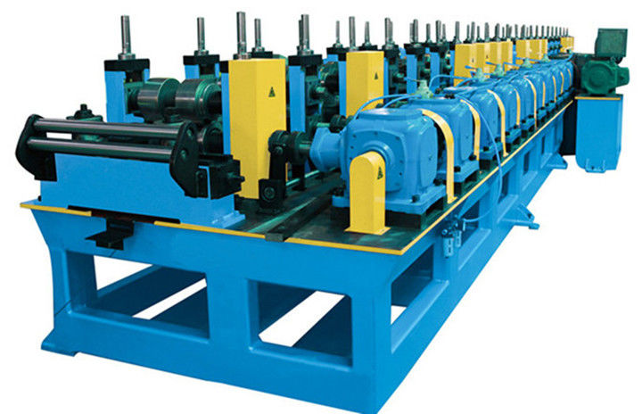 C Z Purlin Roofing Sheet Roll Forming Machine , 30KW Motor Roof Panel Roll Forming Machine