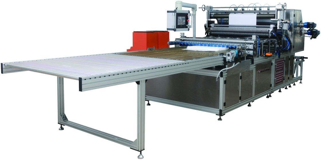 CNC Mini Paper Automatic Pleating Machine , Mechanical Automotive Filter Manufacturing Machines